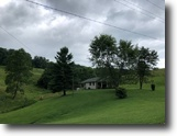 Kentucky Ranch Land 63 Acres Just Listed 1.5 Story Farmhouse $185,000