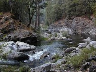 Boulder Creek, claim creek
