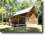 34 acres Log Cabin in Whitney Point NY