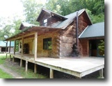 Kentucky Ranch Land 50 Acres SOLD: Log Home, 50+/-ac $69,900