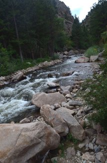 Saint Vrain Creek, claim creek