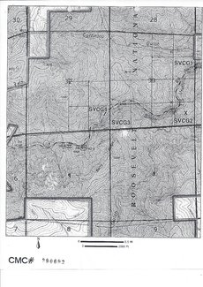 BLM registered map