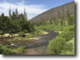 $500/mo Colorado 40 acre MiningClaim Creek