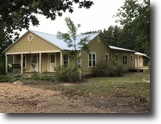 Mississippi Farm Land 3 Acres 3bd/2ba Farm House w/1bd/1ba Apartment