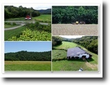 Tennessee Farm Land 172 Acres 172.18ac Farm w/Hm, Barns, Ponds, Creeks