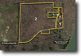 Auction 30+ Acres 2 Parcels w/Home