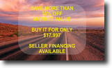 10 acres for only $17,997 - SAVE $32k