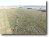 Kansas Farm Land 160 Acres Irrigated Cropland For Sale - Stafford Co.
