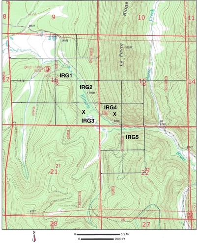 claim topography map colorado
