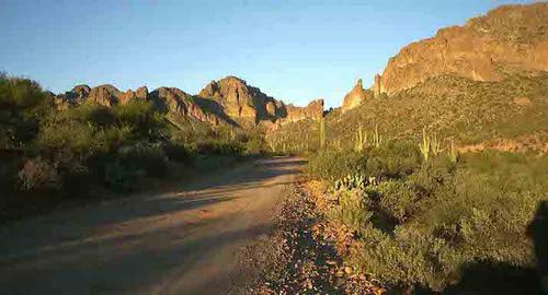 typical beauty of the area arizona