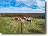 Tennessee Farm Land 43 Acres 42+ac,5 Bd Hm,Garages,2 Story Barn, Ponds