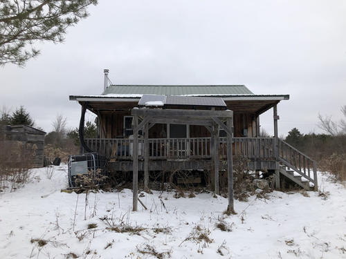 land cabin with solar in birdsall ny property