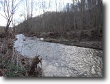 Tennessee Waterfront 83 Acres 82.90 Ac w/Gushing Creek, Views, Woods