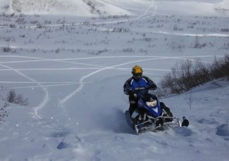 Hundreds of miles of snowmobile trails