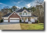 Georgia Land 3 Acres 2-Story Home w/ Pool & Finished BSMT