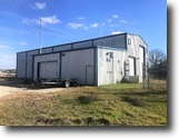 Texas Ranch Land 34 Acres 6,600+/- SF Light Industrial Facility