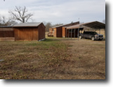 10 acres with 2 bed 1 bath house