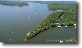 Lake ozarks lakefront peninsula acreage