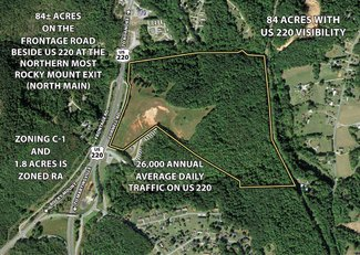 Virginia Land 84 Acres Perfect Commercial Land