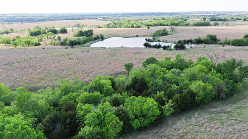 house & land offered in two tracts property glencoe oklahoma