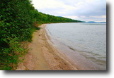 Lakefront 295' on lake Huron 1.4 acre