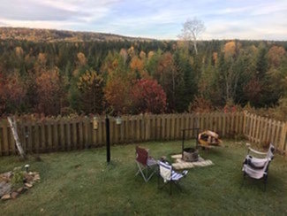 View from 3rd cottage