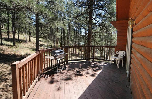 auction beautiful log cabin land property loveland colorado