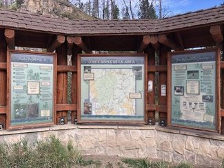 Cabin Creek Info Center