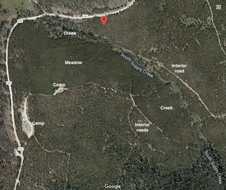 Claim satellite view camping spots