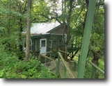 5 Acres Cabin, Creek in Campbell, NY