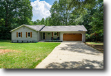 Georgia Land 1 Acres Remodeled 3BR/2BA Ranch in Oxford