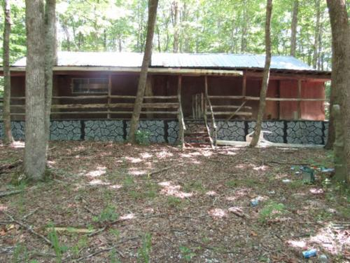 house & land cabin garage block shed property pall mall tennessee