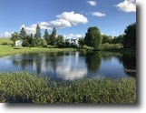 41 acres House with Pond in Brookfield NY