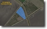 6.5 Acre Unrestricted Parcel In Cameron!