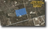 Unrestricted 13.49 Acre Lot In Ector!
