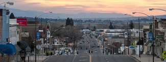 Nearby town of Susanville