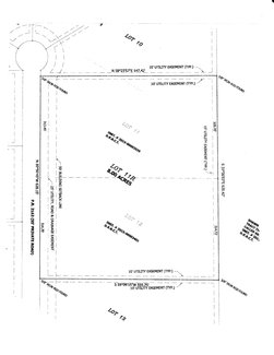 Plat of Lot 11-R - The Ranches At Spring Creek