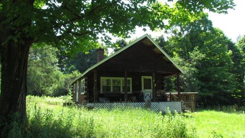 land log cabin german ny skillman property