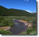 Colorado Hunting Land 80 Acres Colorado 80 ac $500/mo MiningClaim w/River