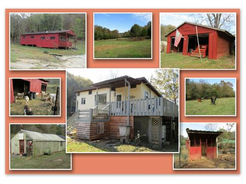 land mini farm home barn workshop property carthage tennessee