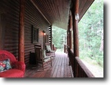Riverfront Log Lodge, 21+ Acres. 1118794
