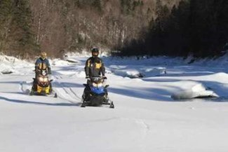 Miles and miles of snowmobile trails