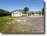 Quebec Land 35 Square Feet Land with garage and income St-Jean