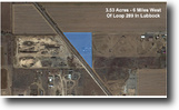 3.53 Acre Unrestricted Lot in Lubbock!