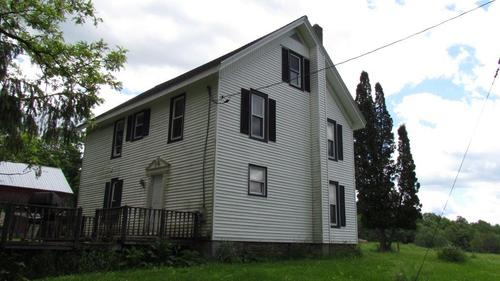 land farmhouse with pond in taylor ny property