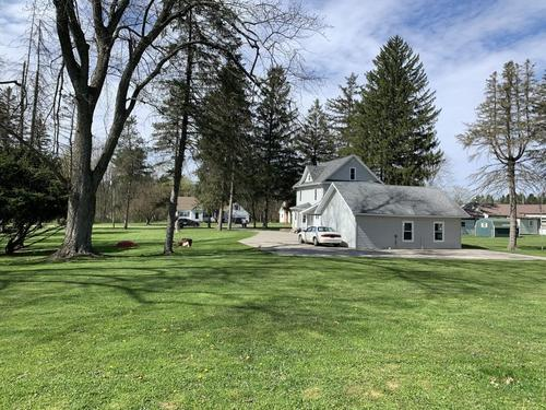 house & duplex garage in portville ny finch st investment property