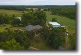 Colonial Home w/ Lake on 72.6± Acres