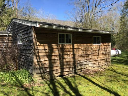 house & land cabin birdsall ny leith road property