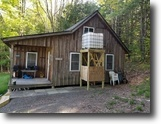 248 acres Cabin Candor NY Back West Creek