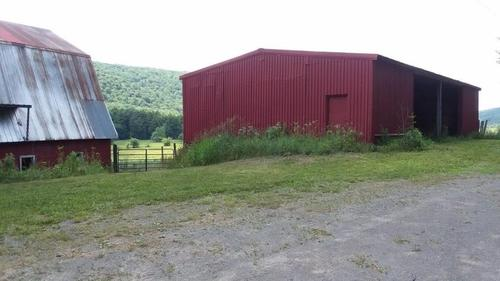land barns deruyter ny county road property